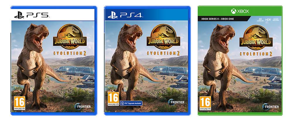 侏羅紀世界︰進化2, Jurassic World: Evolution 2, PS5, PS4, XSX, Xbox One,Frontier Developments, Sold Out, GSE,