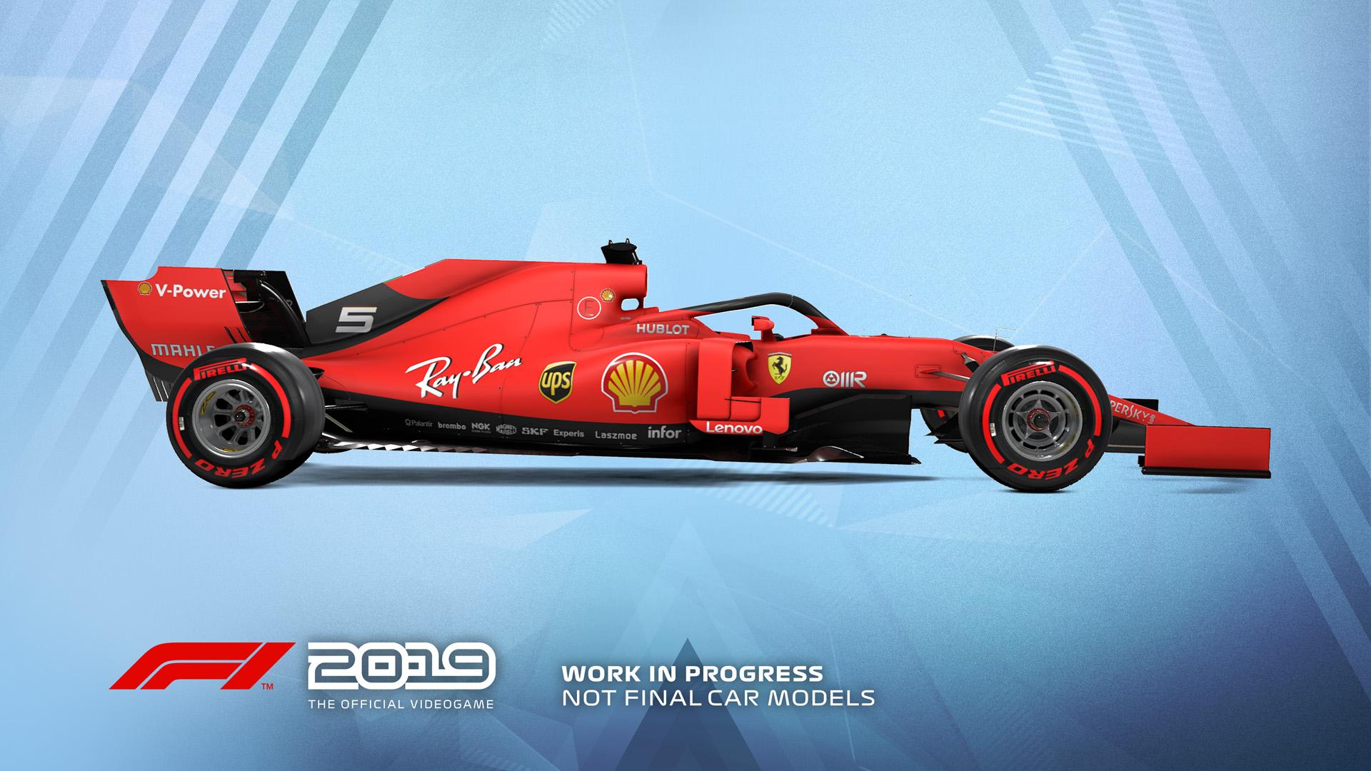 一級方程式賽車F1 2019, 2019 FIA FORMULA ONE WORLD CHAMPIONSHIP, PS4, Xbox One, PC, GSE,