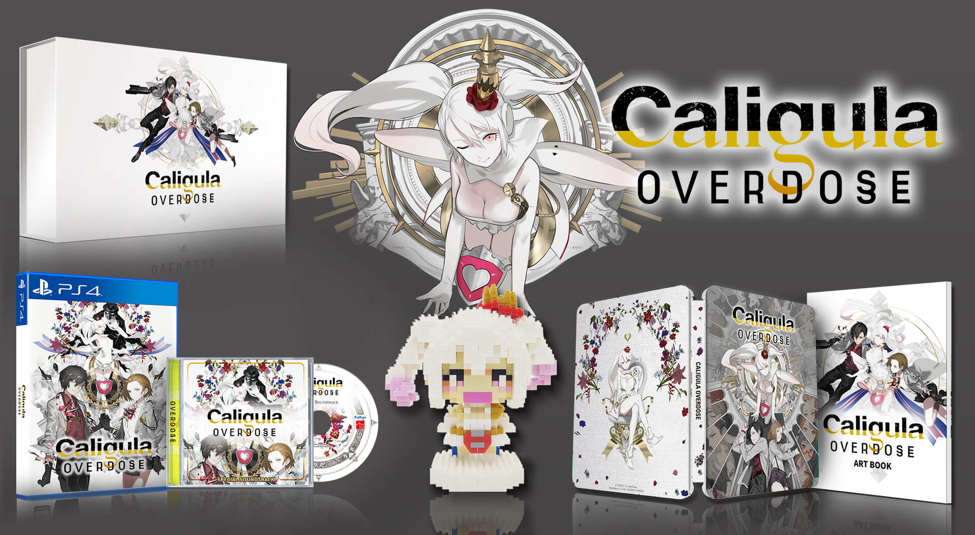 卡里古拉 過量, Caligula Overdose, PS4, GSE,
