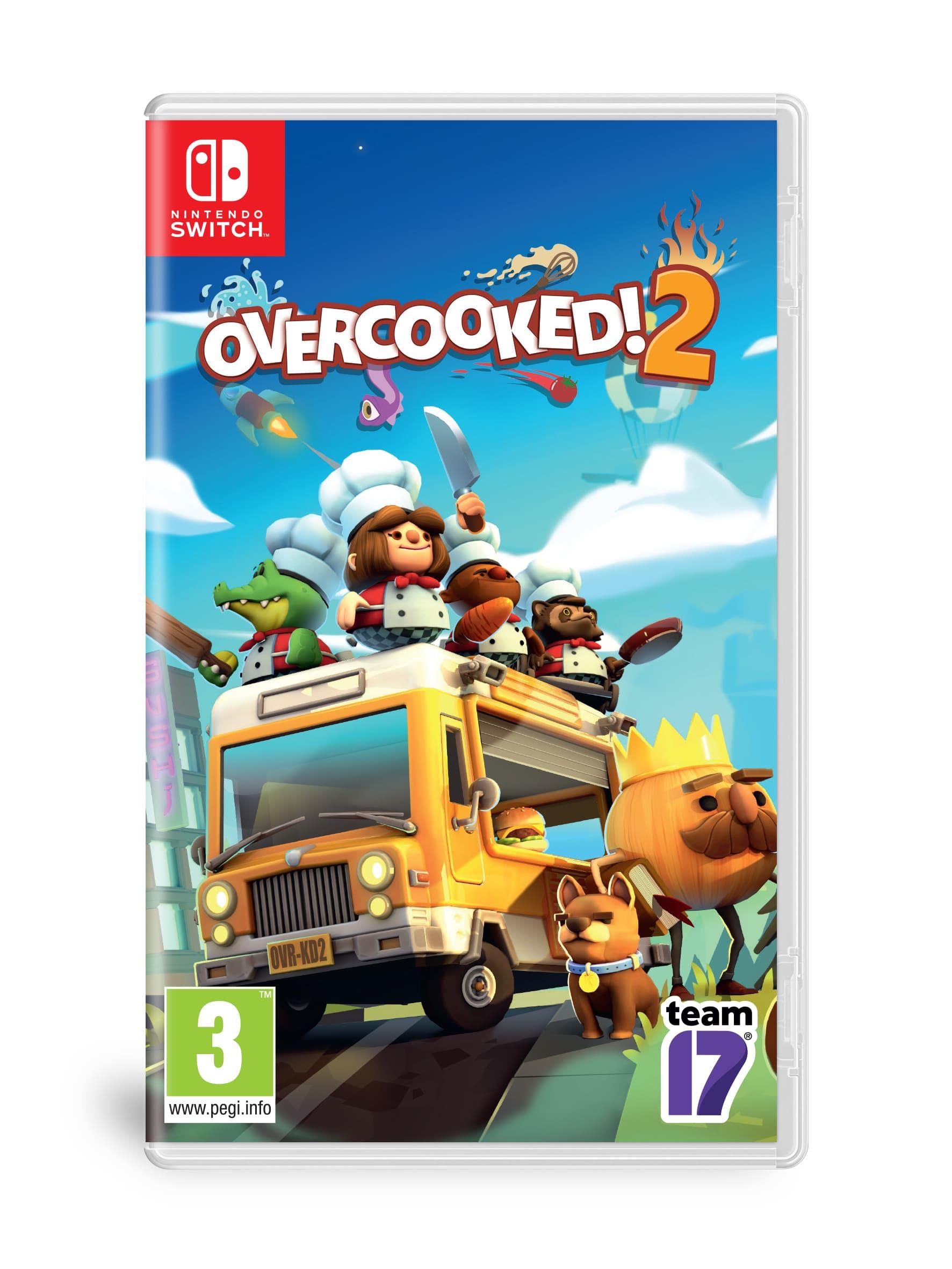 煮過頭2, Overcooked! 2, Nintendo Switch, GSE,