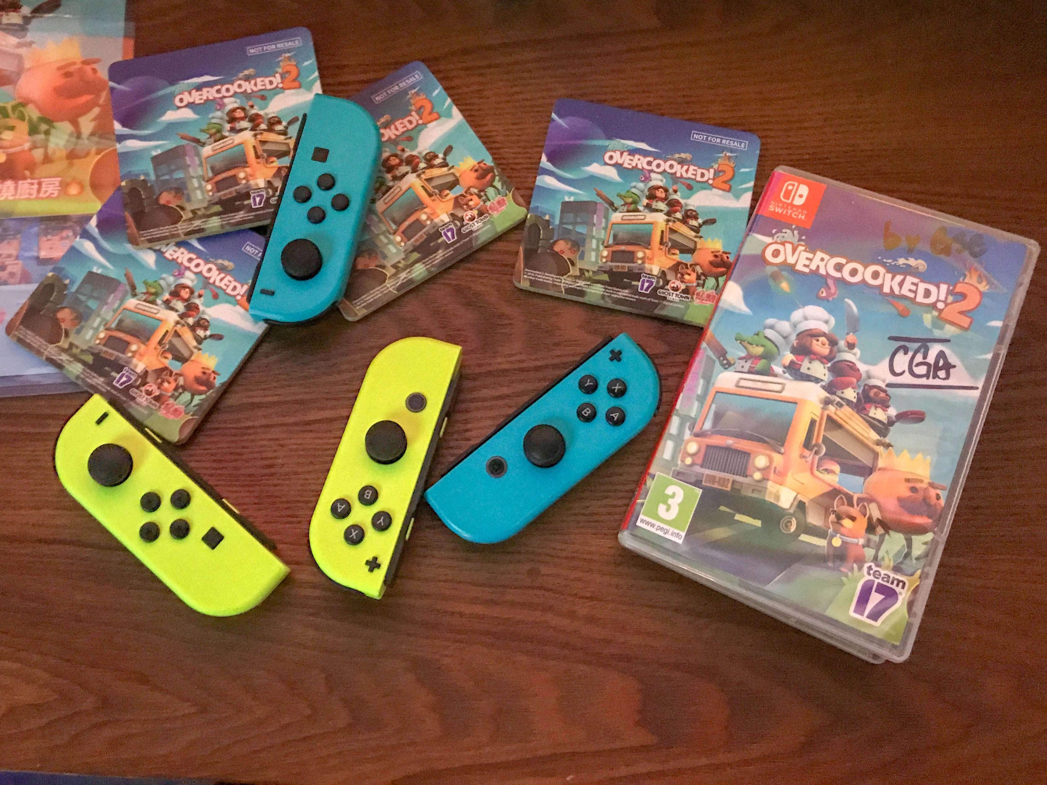 Overcooked! 2, Versus Stadium, Nintendo Switch, GSE,