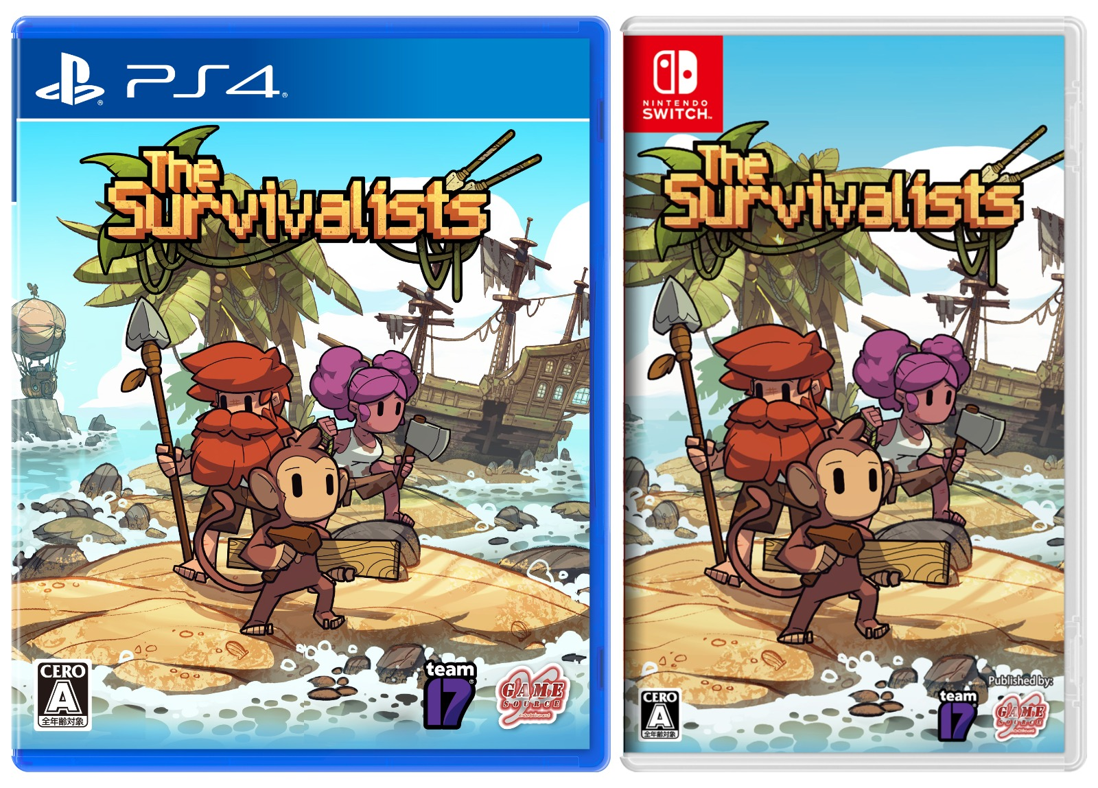 The Survivalists,島嶼生存者,PS4,NS,GSE,