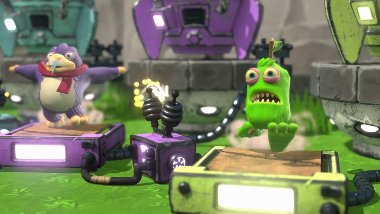 怪獸音樂會運動場, My Singing Monsters Playground, Nintendo Switch, Big Blue Bubble, Sold Out, Game Source Entertainment,