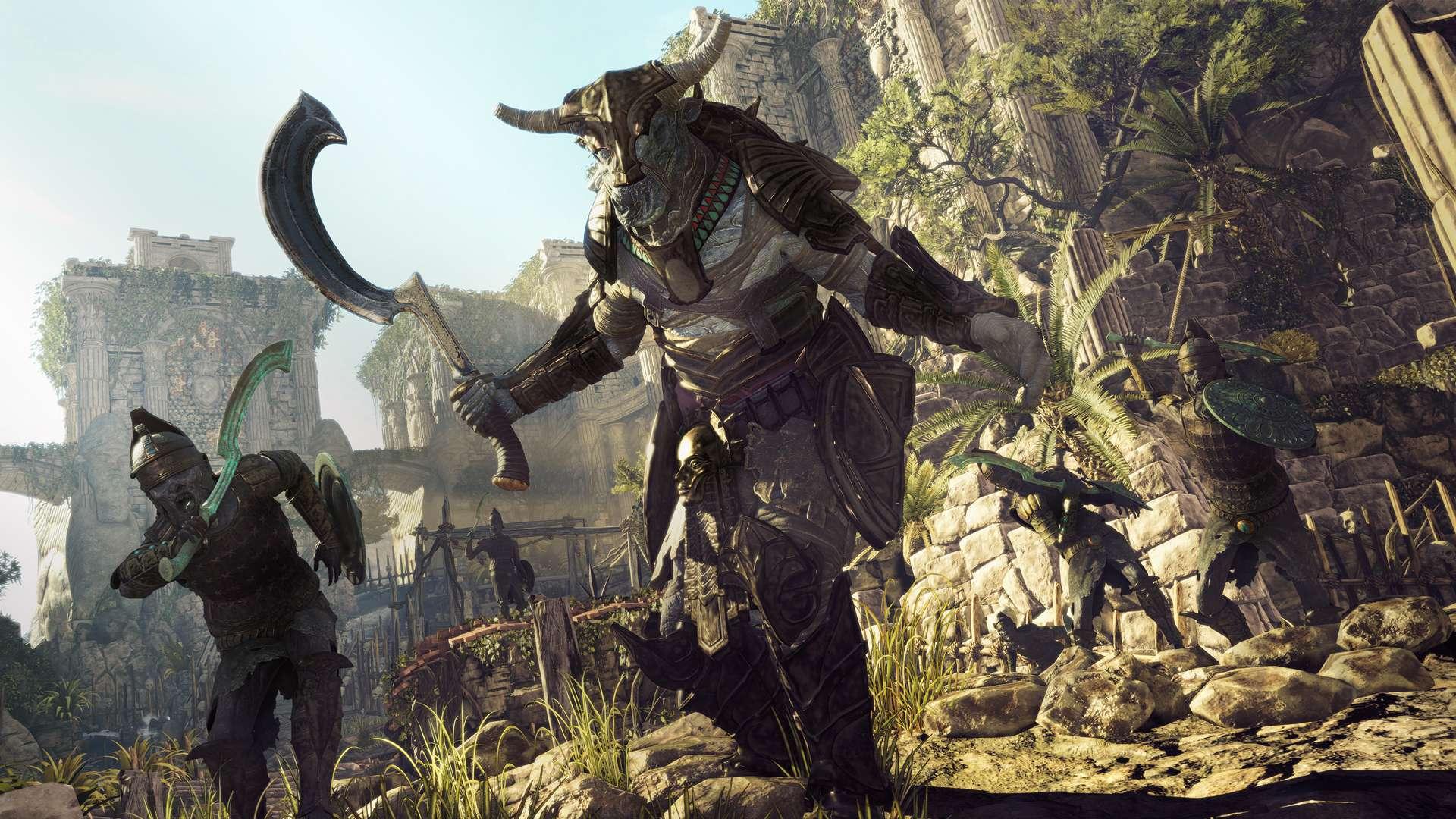 異國探險隊, Strange Brigade, PS4, Xbox One, GSE,