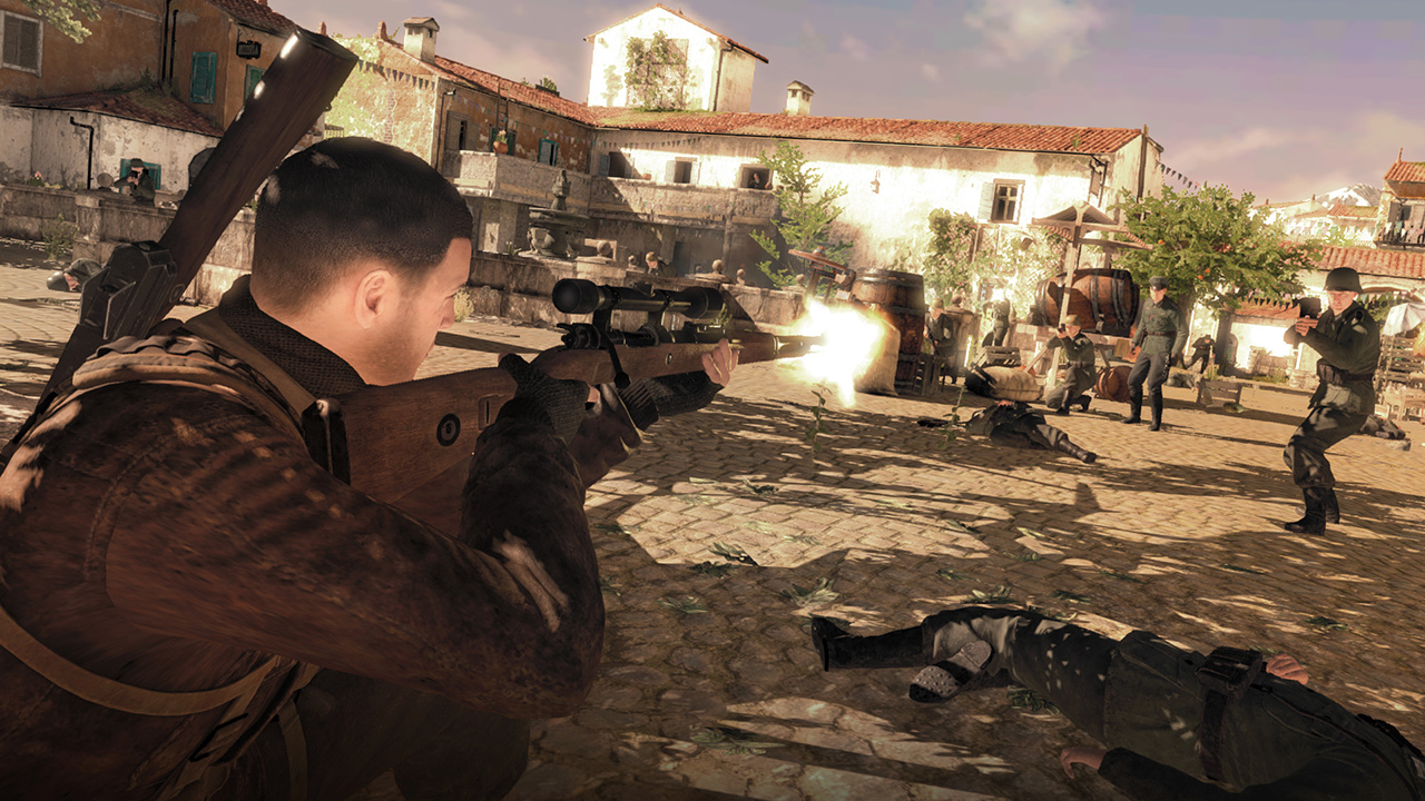 狙擊精英4,Sniper Elite 4,NS,Rebellion,GSE,