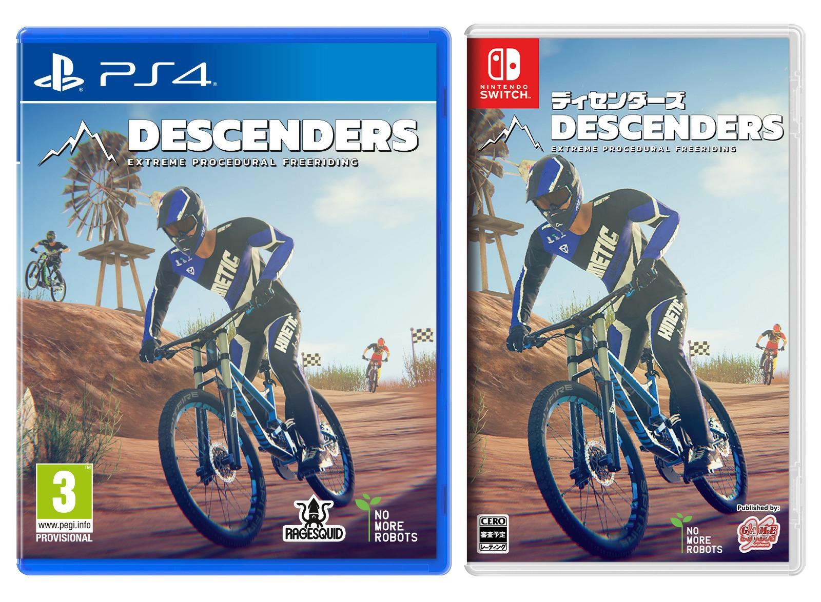 Descenders,下坡競速王者,PS4,NS,GSE,