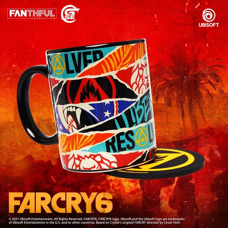 FARCRY6, OLP, 極地戰嚎6, 官方授權周邊產品, Game Source Entertainment,